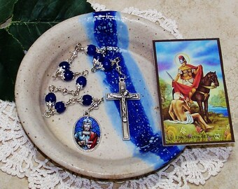 Unbreakable Catholic Chaplet of St. Martin Bishop of Tours - Patron Saint of Soldiers, Equestrians, Vintners & Recovering Alcoholics
