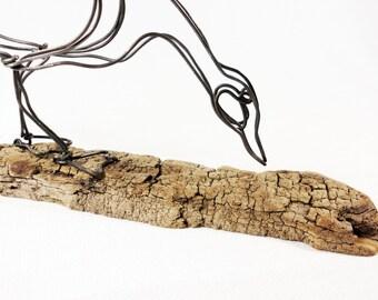 Goose Wire Sculpture, Wire Art, Minimal Wire Sculpture, Calder Inspired, 455850738