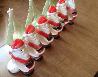 Santa Napkin Holder Etsy