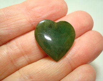 1970s Jade Heart.
