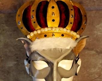 Rat King Leather Mask (Fancy)