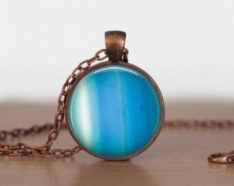 Uranus Pendant Jewelry  Uranus   Necklace