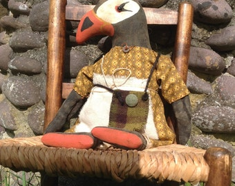 Matilda the Primitive Puffin Doll