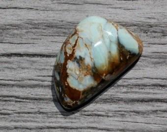 7 dwarfs turquoise, variquoise from Nevada cabochon for jewelry making, design, ring size stone, gem turquoise