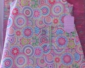 Modern Summer Shift for Girls Size Four Ready to Ship
