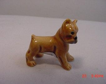 Vintage Miniature Goebel Boxer Puppy Dog Figurine   16 - 220