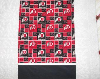 University of Utah - Go Utes - U of U Pillow Case