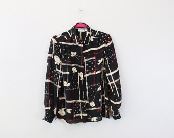 Vintage abstract  Blouse by Alfred Dunner
