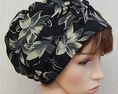 Womens Head Scarf, Jewish Tichel Headwear, Summer Head Covering, Alopecia Hair Loss Hair Scarf Bonnet, Gift for Her