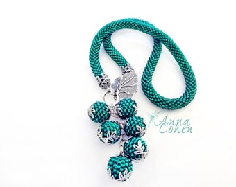 Teal necklace FREE SHIPPING