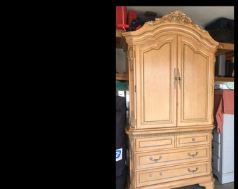 PAINT to ORDER Dresser Armoire ~ ASCP ~
