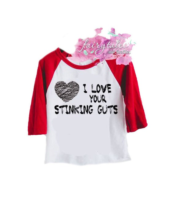 Download I Love Your Stinking Guts Valentines Day Shirt for boys or