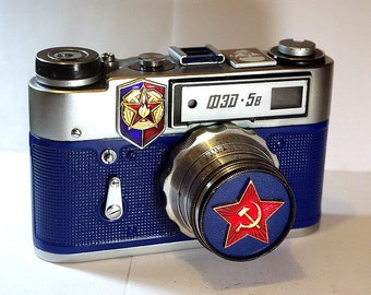 USSR FED-5 camera rare Russian LEICA in box  -= Red Lenin=-