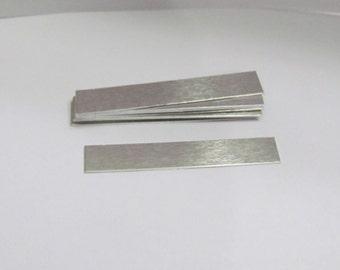 5/16 x 2 -  22  gauge  -- hand stamping blanks - ring blanks