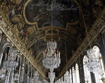 Paris- Versailles- Hall of Mirrors- Fine Art Photography