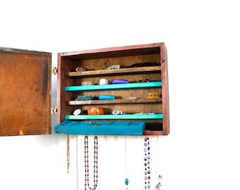 turquoise Jewelry storage