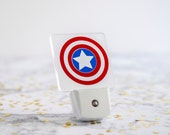 Captain America Shield LED Night Light