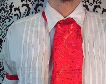 Brocade cravat for men