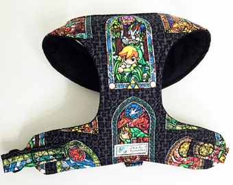Legend of Zelda Comfort Soft Dog Harness - Made to Order -