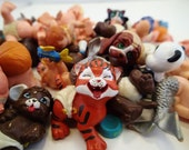 Magic Diaoper Babies 44 Galoob Baby Face Miniature PVC Figurines Figures Color Changing Friends Animals Mermaids Angels Cat Pets Merbabies