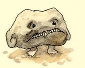 Rock Creature - Original illustration from book