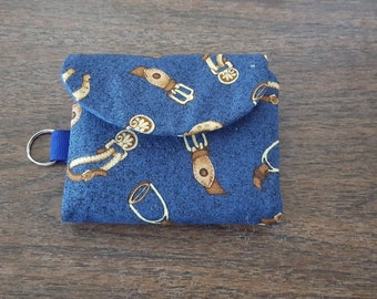 Small-Size Tri-Fold Wallet