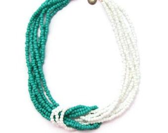 Sailor's knot necklace