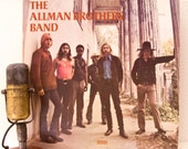 "ON SALE Allman Brothers Vinyl Record Album 1970s Southern Rock American Blues LP ""The Allman Brothers Band"" (Superclean 1973 Polydor Re-Issu"