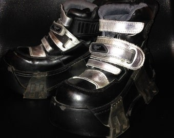 Swear London Monster Club Kid Platform  Cyber Punk Goth RARE  Size 38