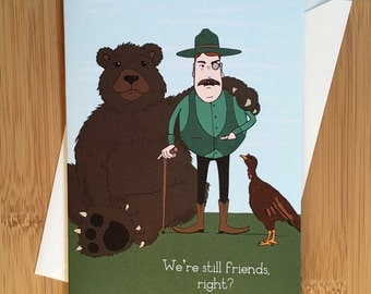 Still Friends Greeting Card - Blank Cards