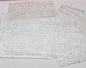 Uroboros Clear Fipple Glass 90 COE One Pound (1 lb) Assortment for Fusing