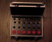 12 Oscillator Drone Box with Arcade Buttons // Noise Device // Suitcase Synth // electro lobotomy ( pre order )
