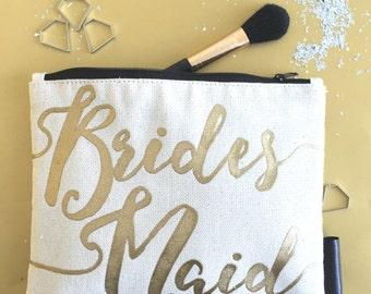 Bridesmaid Cosmetics Bag