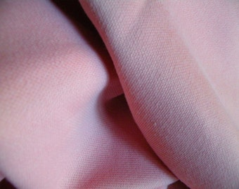 pink double knit polyester fabric 07