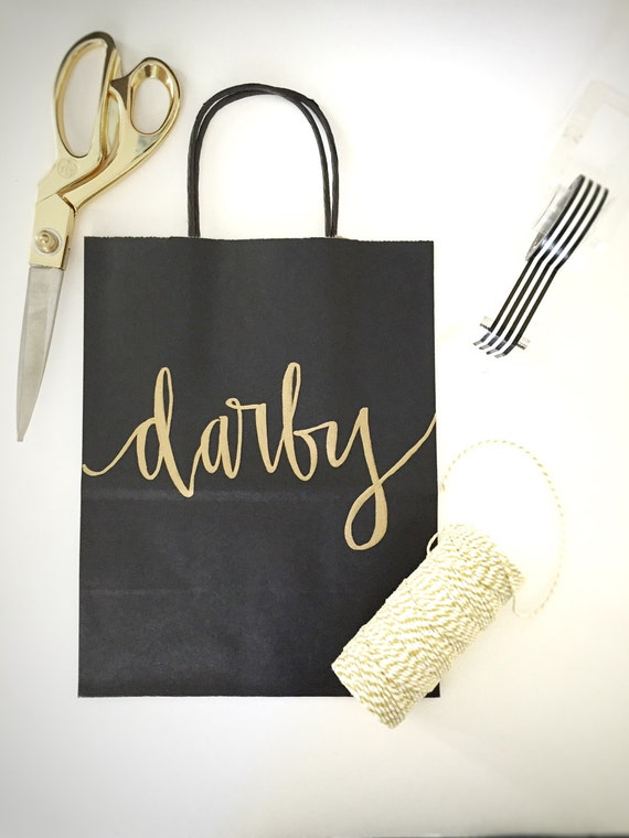 Wedding Gift Bags Printed : Custom gift bags + Black gift bags + Wedding gift bags + Bridal shower ...