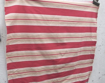 Vintage French Red Ticking