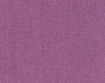 Purple Sorbet Light Weight Chambray, Interweave Chambray Collection by Robert Kaufman