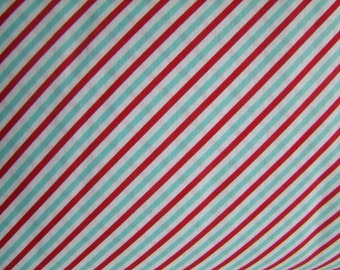 Stripe Red Pixie Noel Fabric Natasha Noel Riley Blake Design