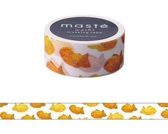 maste Taiyaki washi masking tape mt