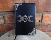 Old World Magick - Custom Triple Moon Mini Book of Shadows Journal