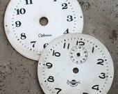 Vintage Alarm Clock Faces -- cardboard -- D18