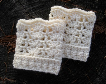 Lace Wrist Warmers, Lacy Wrist Warmers, Lace Cuffs, Crochet Wrist Warmers, Crochet Cuffs, Wristers
