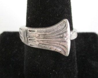 Vintage Spoon Ring - Worn, Size 9