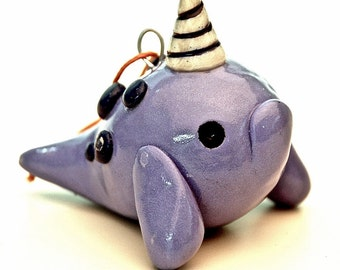 Narwhal Christmas Ornament
