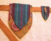 Tribal Boho Festival Utility Burning Man Tapestry Pocket Belt