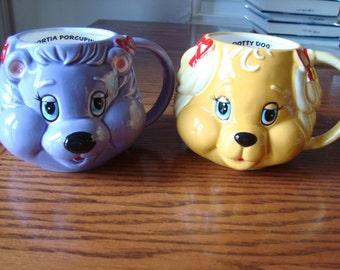Pair of Get Along Gang mugs