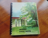 Monks Cook Book large 291 pg home style recipes vintage cookbook