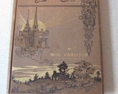 City Ballads by Will Carleton 1886 Hardcover