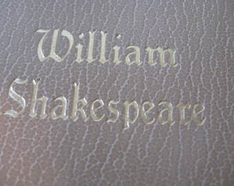 The Works of William Shakespeare Complete Black's Readers Service original copyright 1927 renewed 1965