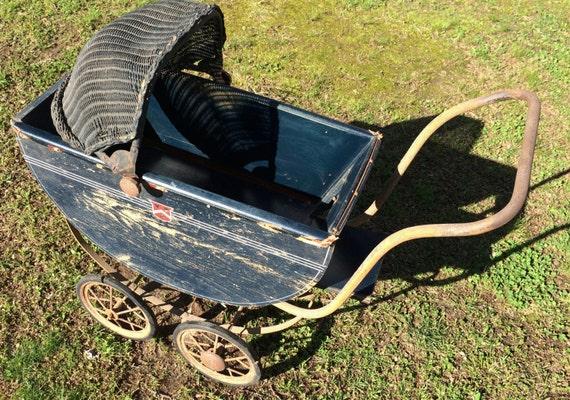 Custom Painted Baby Stroller